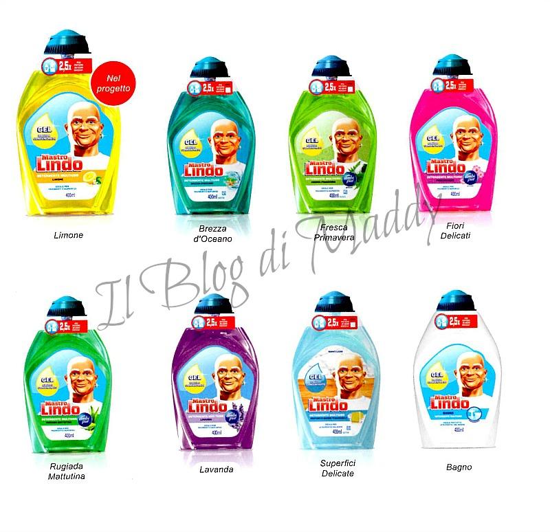 Mastro lindo gel il detergente concentrato per tutta la casa - Mastro lindo bagno ...