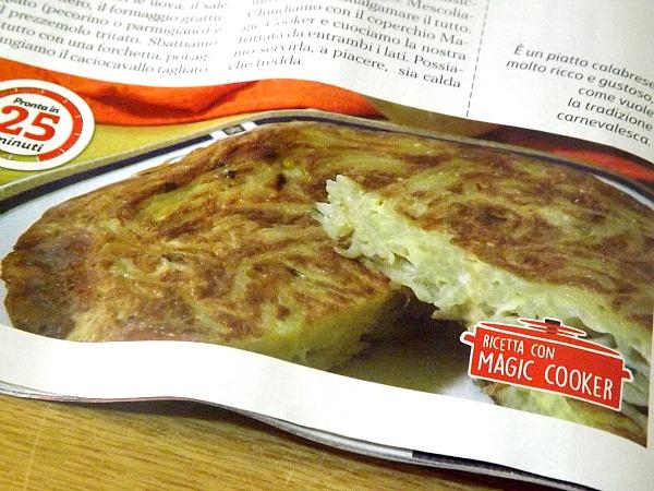 frittata di pasta di carnevale