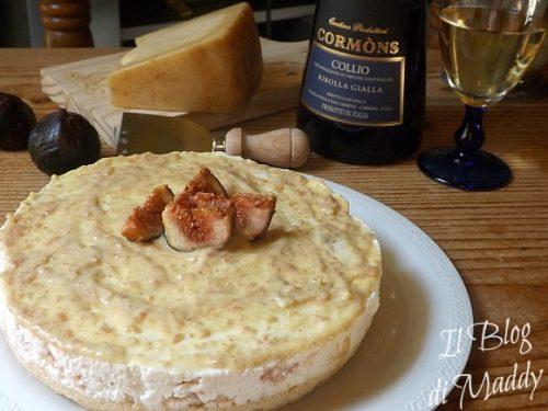 Cheesecake ai Fichi e Asiago